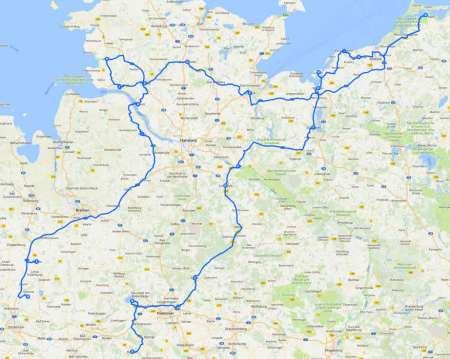 1. Womo-Reise Salzstraße etc. 05 2009