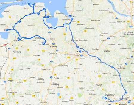 Ostfriesland Bremen Mai 2015