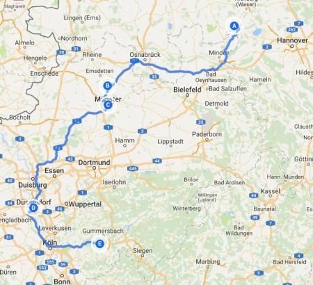 Weser bis Bielstein